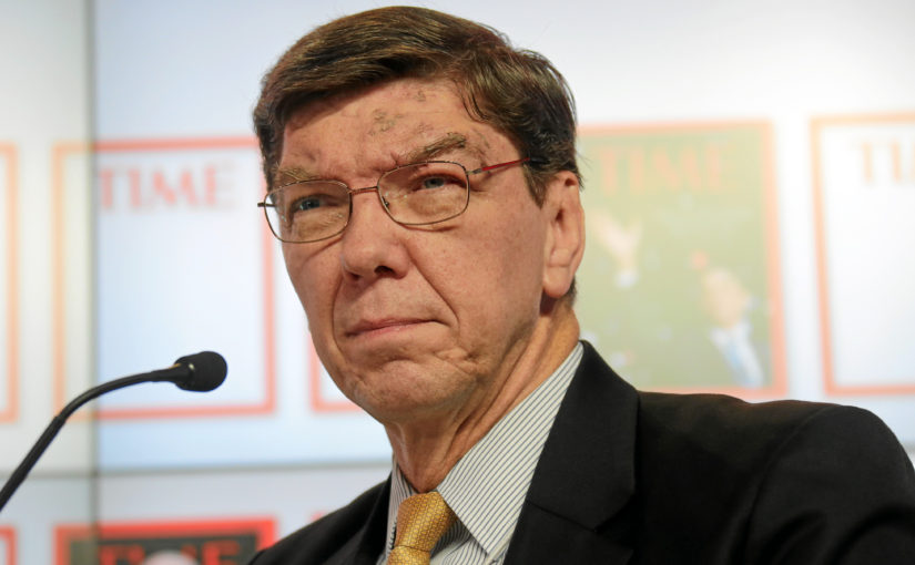 Innovator's dilemma by Clayton Christensen