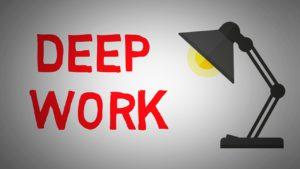 Koncentracija ir dedikacija darbui