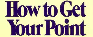 Kaip pasakyti ko nori per 30 sekundžių