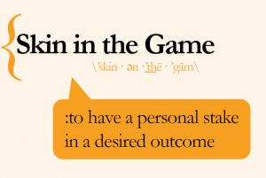 Skin in the game - apie asimetriją mūsų gyvenimuose, N. N. Taleb