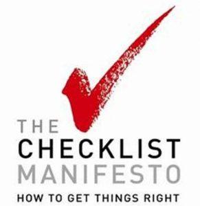 Checklistai, kurie išgelbėja gyvybes